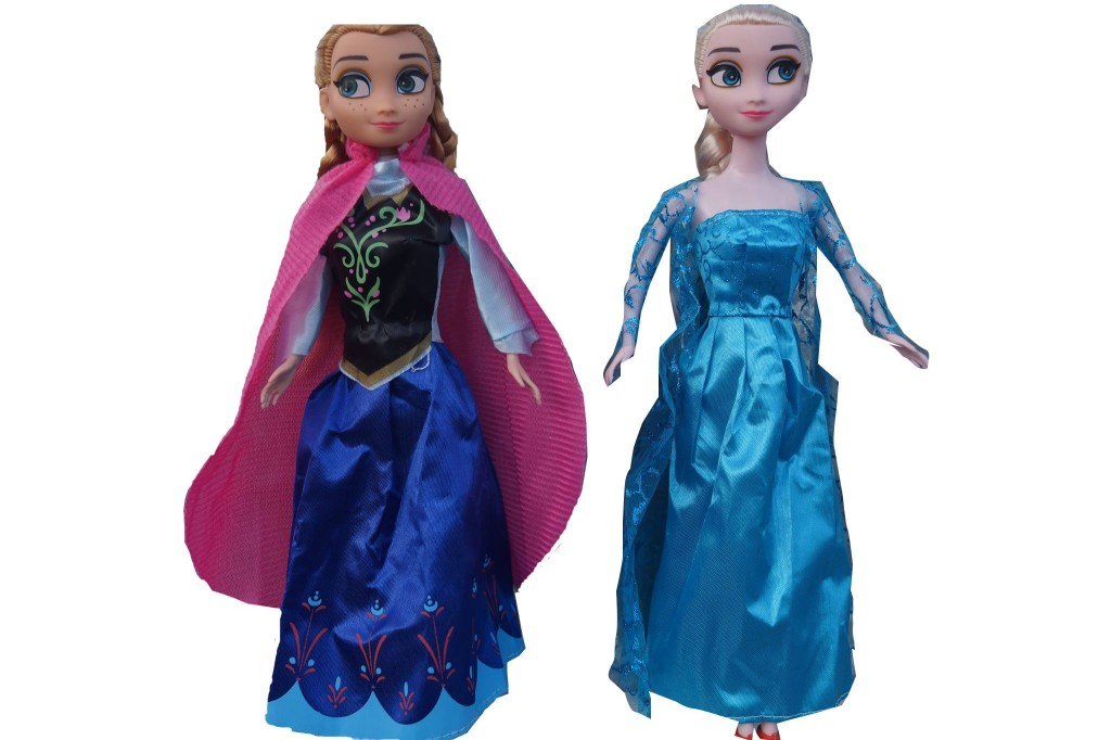 Zestaw lalek Elsa Anna Olaf