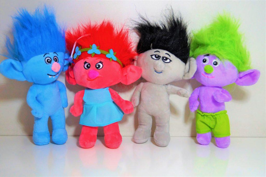 maskotki trole
