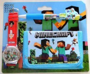 Portfel zegarek Minecraft