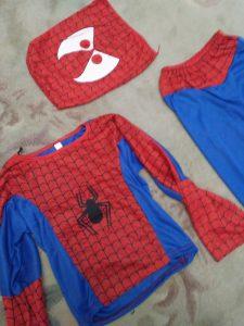 strój spidermana