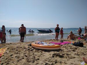 Plaża słoneczny brzeg